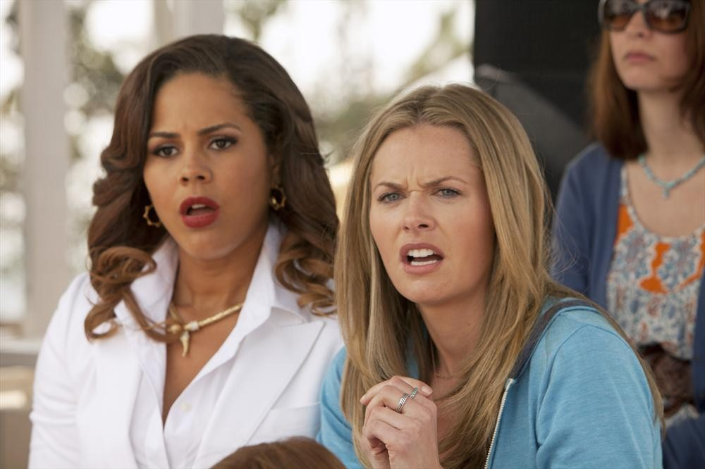 lenora crichlow maggie lawson my take on tv